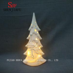 White Glazed Ceramic Christmas Tree. LED/ Wedding Tree pictures & photos