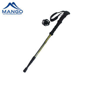 Hot Sell 3 Section Aluminum Twist Lock Hiking Stick (MW1048T1) pictures & photos