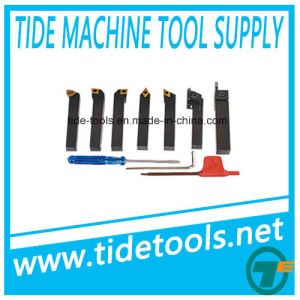 Manual Carbide Turning Tool Set with Inserts pictures & photos