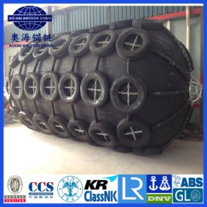 Net Type 50 Kpa 2.5*4.0 Floating Pneumatic Marine Rubber Fender pictures & photos