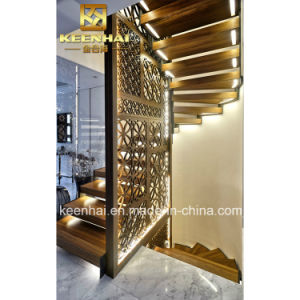 Interior Decorative Stainless Steel Laser Cut Room Divider pictures & photos