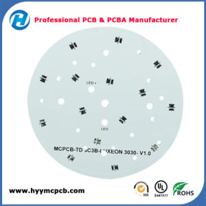 UL Approved Aluminum 1oz 1.0mm Round Printed Circuit Board LED PCB pictures & photos