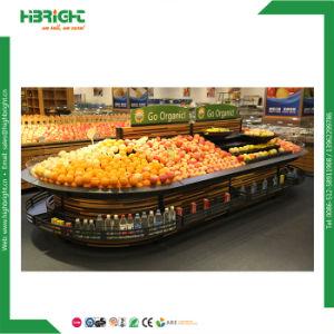 Black Supermarket Vegetable Rack for Sale pictures & photos