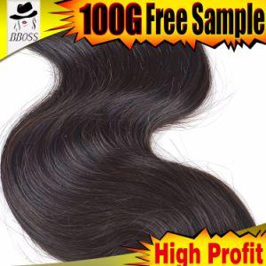 2015 Natural Brazilian Human Hair Extension pictures & photos