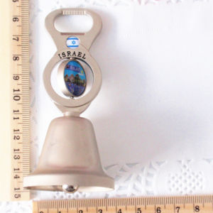 Souvenirs- Promotional Rotating Metal Table Bell Bottle Opener Gift pictures & photos