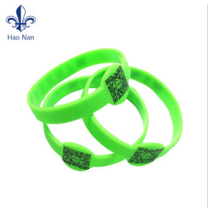 Promotion Price Custom High Quality Silicone Bracelet Rubber Wristband pictures & photos