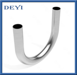 Sanitary Stainless Steel Pipe Fitting 180 Degree Elbow Bend Elbow pictures & photos