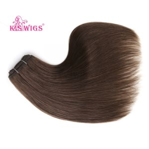100% Natural Brazilian Virgin Human Hair Extension pictures & photos