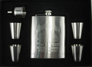 Stainless Steel Hip Flask Sets (R-HF032) pictures & photos