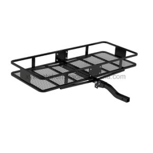 "Folding Hitch Mount Cargo Rack Luggage Carrier Basket for 2"" Receivers pictures & photos"
