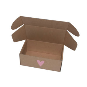 Corrugated Paper Box Without Glue pictures & photos