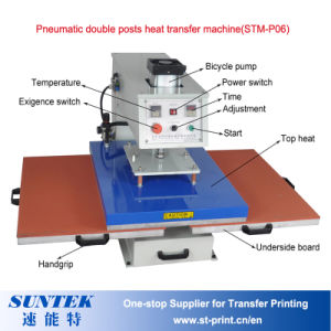 Top Sliding Pneumatic Heat Transfer Machine with U Type pictures & photos