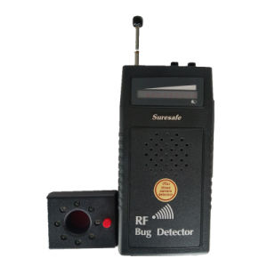 Audio Detector RF Bug Sweeper with Audio Display Superior Sensitivity RF Signal Camera Phone GSM GPS WiFi Bug Detector pictures & photos