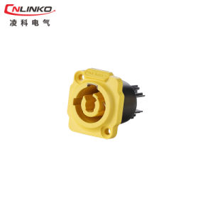 IP65 Power Yf-24 Connector Female Plug for Video pictures & photos