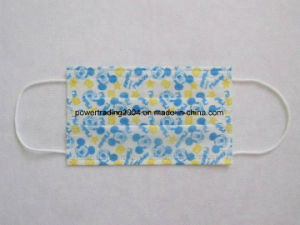 (for Japan) Disposable Printed Non-Woven Face Mask pictures & photos