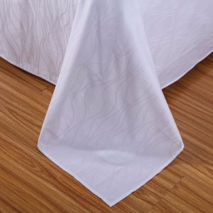Customized Low Price Cotton Cotton Bed Sheet for Cottage pictures & photos