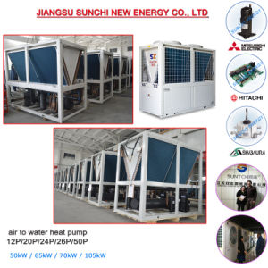 Air Cooled 65kw Water Chiller for Air Conditioner pictures & photos