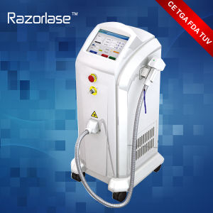 Painless Treatment Alexsander Laser 808nm Diode Laser Hair Removal Machine pictures & photos