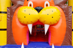 Lion Inflatable Bounce House Combo Chb725 pictures & photos