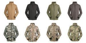 Outdoor Commander Softshell Waterproof Windproof Coat Military Officer Jacket pictures & photos