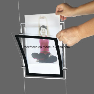 LED Light Acrylic Poster Advertising LED Display Board pictures & photos