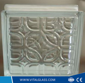 Satefy Tempered Well Shape Pattern Glass Block pictures & photos