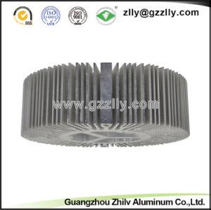 ISO Factory Direct Sales Sunflower Shape Aluminum Profile Heatsink pictures & photos