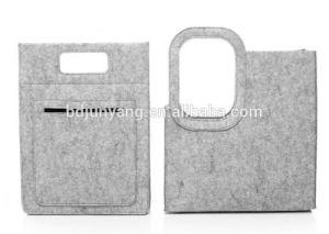 Messenger Wool Felt Bag/Felt Bag Ladies Handbag pictures & photos