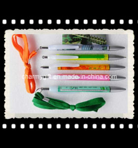 Promotion Pen with Strap-20 pictures & photos