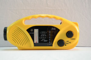 FM88-108kHz Dynamo Mobilephone Charger FM Radio pictures & photos