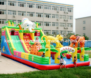 Inflatable Fun City for Amusement Park
