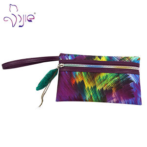 Flat Shaped Painting Pattern Cute Cosmetic Beauty Bag pictures & photos