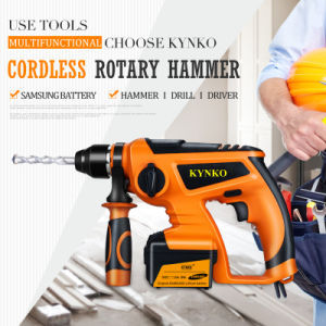 Power Tools 12V Rotary Hammer with Two Battery (KD65) pictures & photos