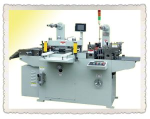 Die Cutter Machine for Adhesive Paper Label (MQ-420B) pictures & photos