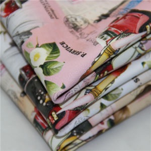 Any Pattern Printed in Furniture PU Leather pictures & photos