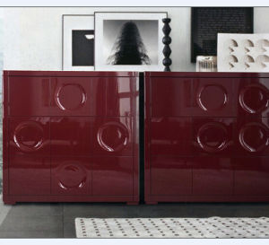 2017 Hotel Used Modern Display Lacquer High Glossy Painting Cabinet pictures & photos