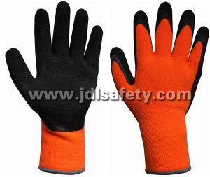 Work Glove with Latex Foam Coating for Winter (LTF2016) pictures & photos