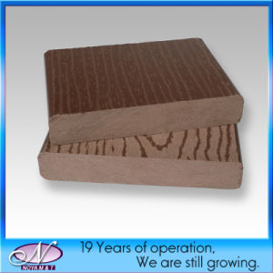 Synthetic Coffee Wood Plastic Composite/WPC Decking Board for Garden pictures & photos