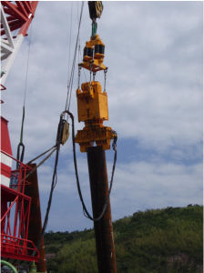 Ep Series Vibratory Pile Driver with Adjustable Eccentric Moment (EP320)