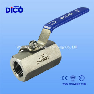 Hexagon 1PC 316 Stainless Steel Ball Valve pictures & photos