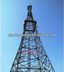 Lattice Cell Phone Telecom Self Supporting Tower