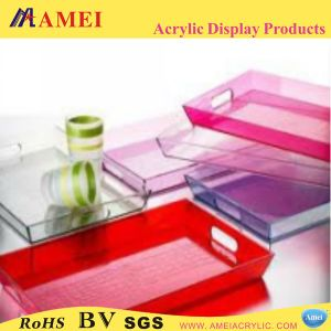 Colored Acrylic Coaster/Tray (AAL-14)