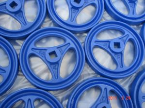 Wheel Parts with Blue Painted pictures & photos