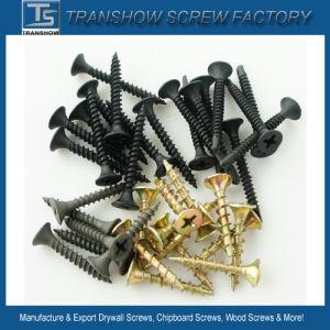 3.5*25mm C1022 Hardend Steel Black Phosphated Drywall Screws pictures & photos