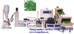 CE/SGS/ISO9001 PP and PE Recycling and Pelletizing Line pictures & photos
