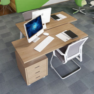 Office Furniture Workstation Desk with Filing Cabinet pictures & photos