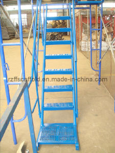 "Scaffolding Frame System Internal Stair (8′*6′4"") pictures & photos"