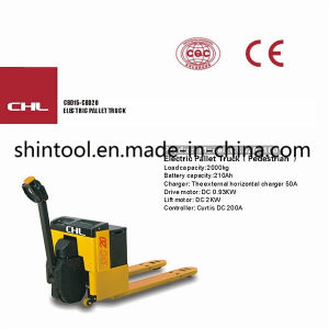 Battery Operated Pallet Truck Cbd20-100 2.0 Ton pictures & photos