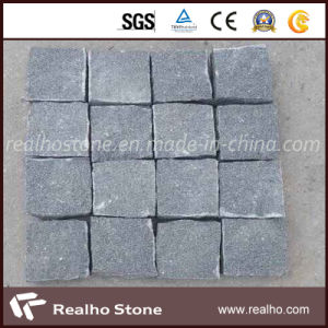 G654 Dark Grey Granite Cobble Stone/Cube Stone/Paving Stone