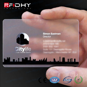 Contactless Plastic Business Cards with RFID Chips pictures & photos